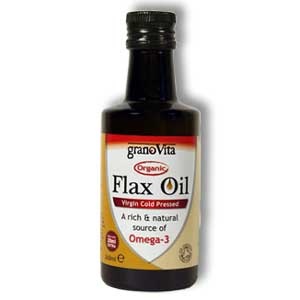 Organic Flaxseed Oil 260ml